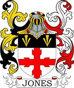 Jones Coat of Arms | Coats of Arms | Jones family crest, Family