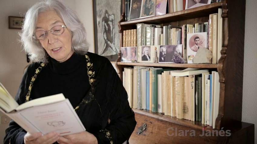 Un minuto de poesía: Clara Janés | Babelia | EL PAÍS