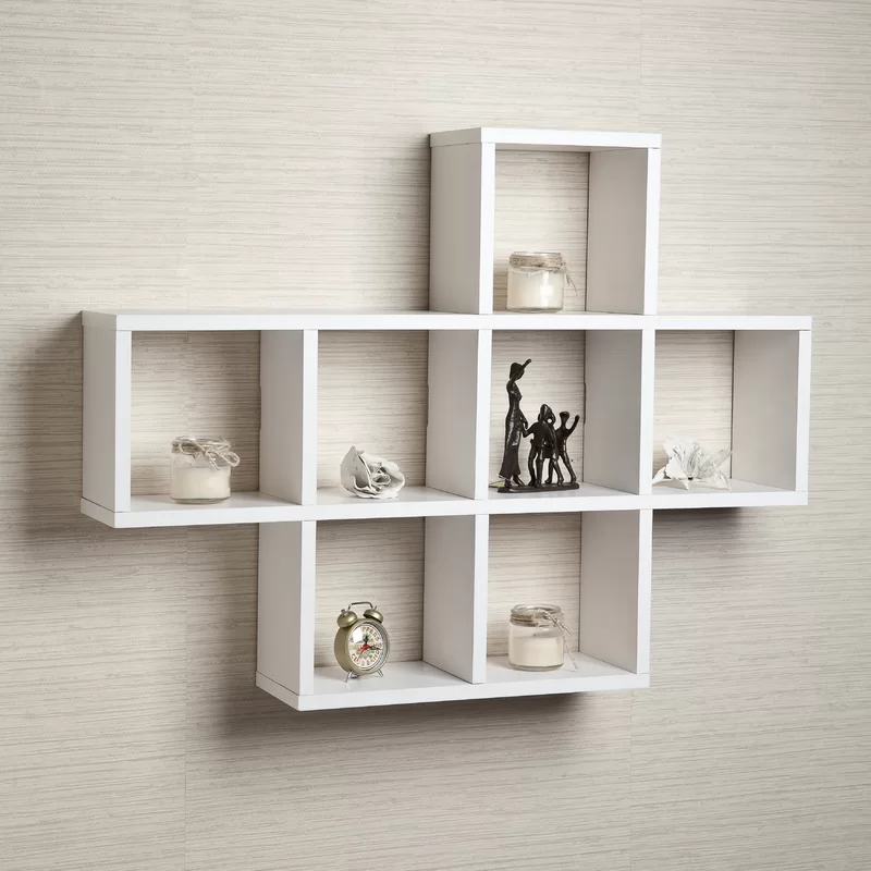 Germain 3 Piece Square Cubby Shelf In 2020 Wall Cubbies Shelves Shelving