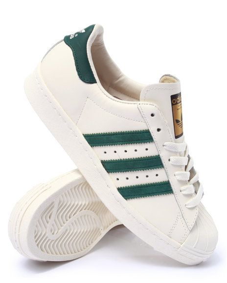 4ef08d21935b Celebrate the iconic adidas Superstar with the new 80s Vintage Deluxe pack!  Available in two classic color ways on DrJays.com.