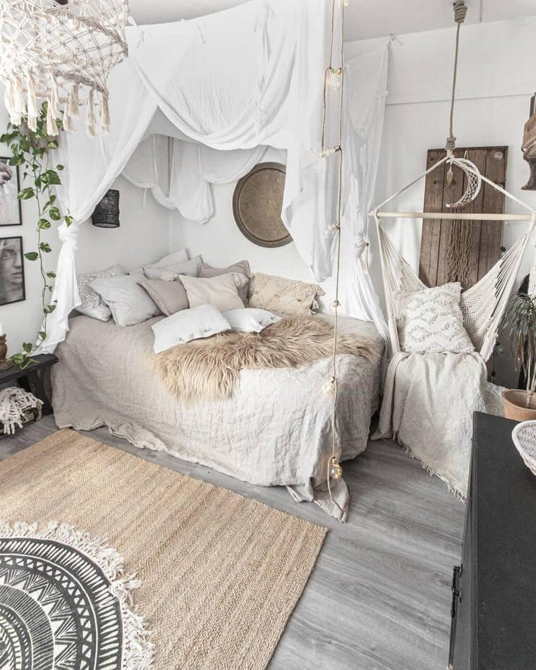 60 Gorgeous Bedrooms with Boho Colors Charm