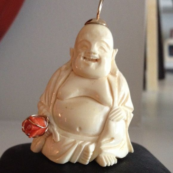Jewelry ivory buddha pendant stuff to buy pinterest ivory jewelry ivory buddha pendant mozeypictures Choice Image