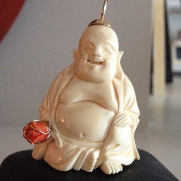 Jewelry ivory buddha pendant stuff to buy pinterest ivory jewelry ivory buddha pendant mozeypictures Images