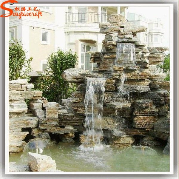 Available For Export Indoor Wall Waterfall Artificial Waterfall