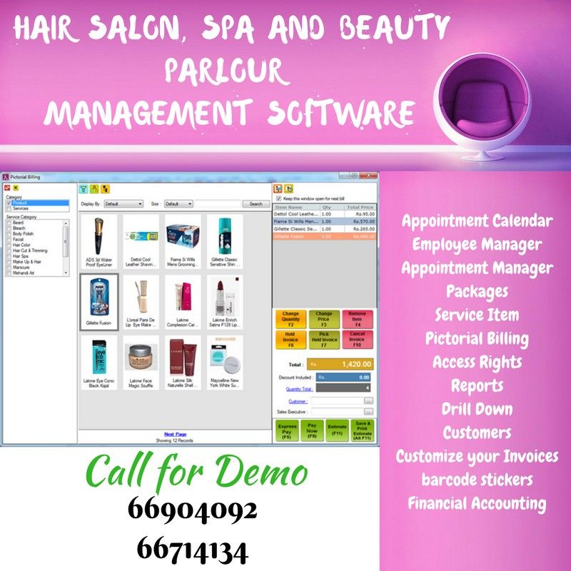 Point of sale software for salon spa ️easy to use intuitive user ️interface sticker printingspauser