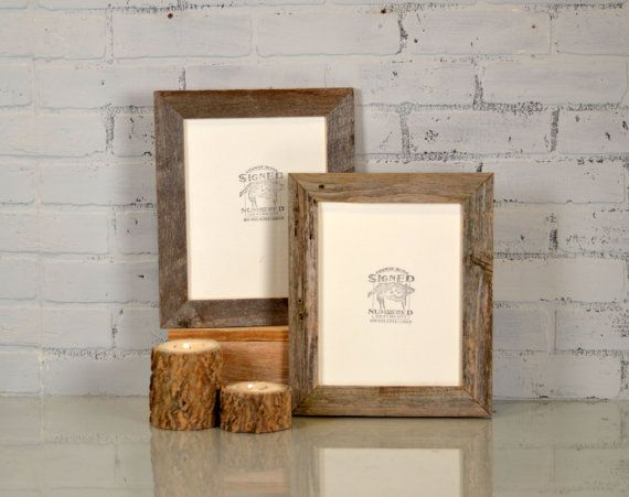 A Unique Rustic Handcrafted Picture Frame Made From Natural Reclaimed Cedar Handcrafted Picture Frames Reclaimed Wood Photo Frame Wood Photo Frame