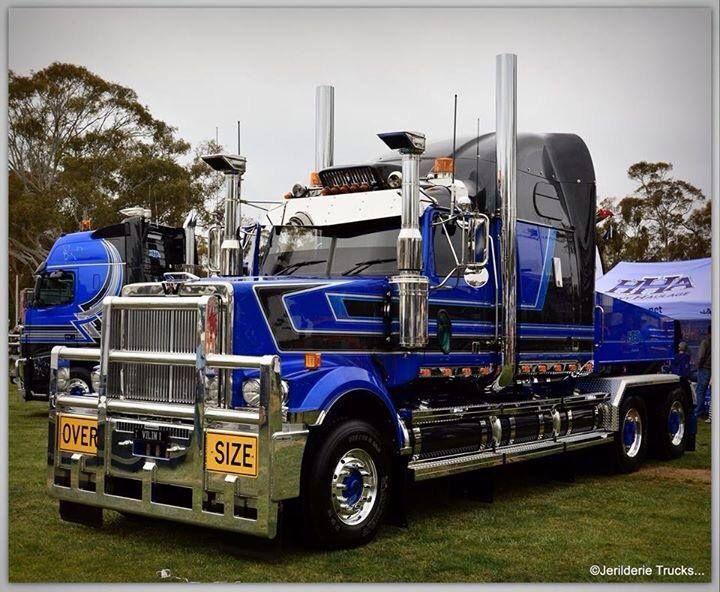 Heavy Haulage Australia 6900 Western Star Trucks Big Rig Trucks