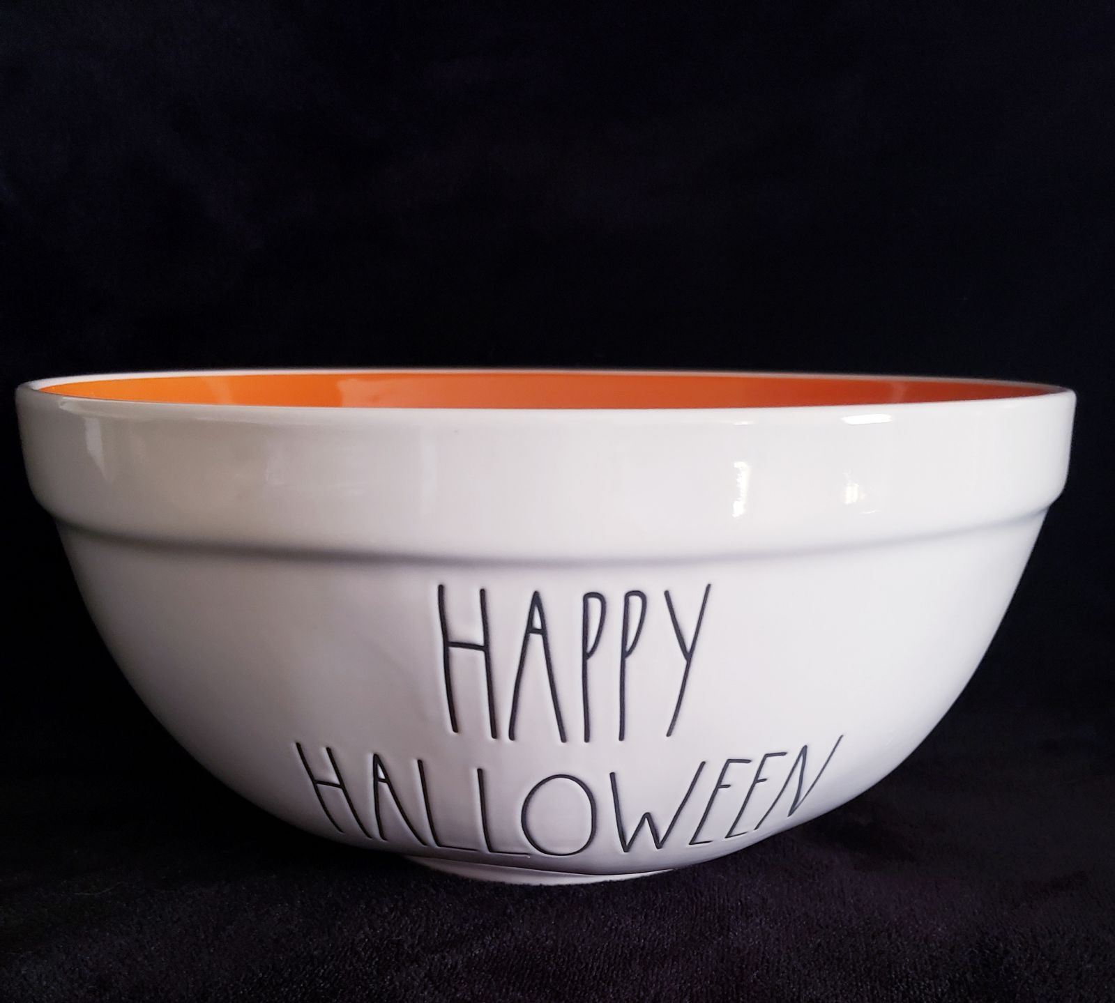 1 Rae Dunn Happy Halloween Candy Bowl This Is Ceramic Not