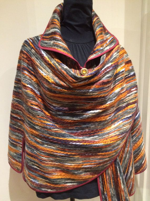 Multicolored cape/cloak one size fits most by SissyandTodo on Etsy