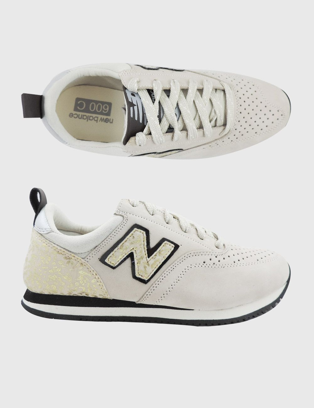 new balance 600c branco