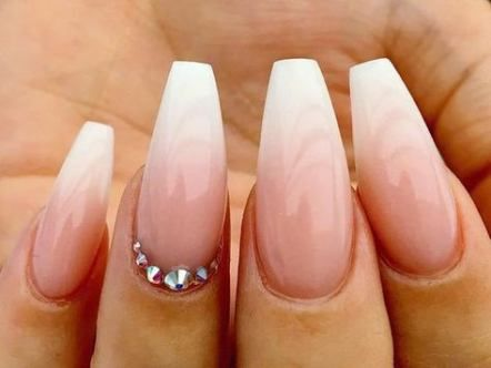 nails design ombre coffin 62 ideas for 2019  prom nails
