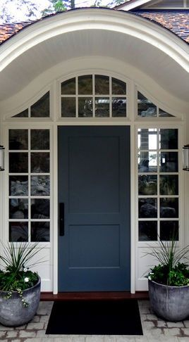 Front Door Color Really Pretty Blue Grey
