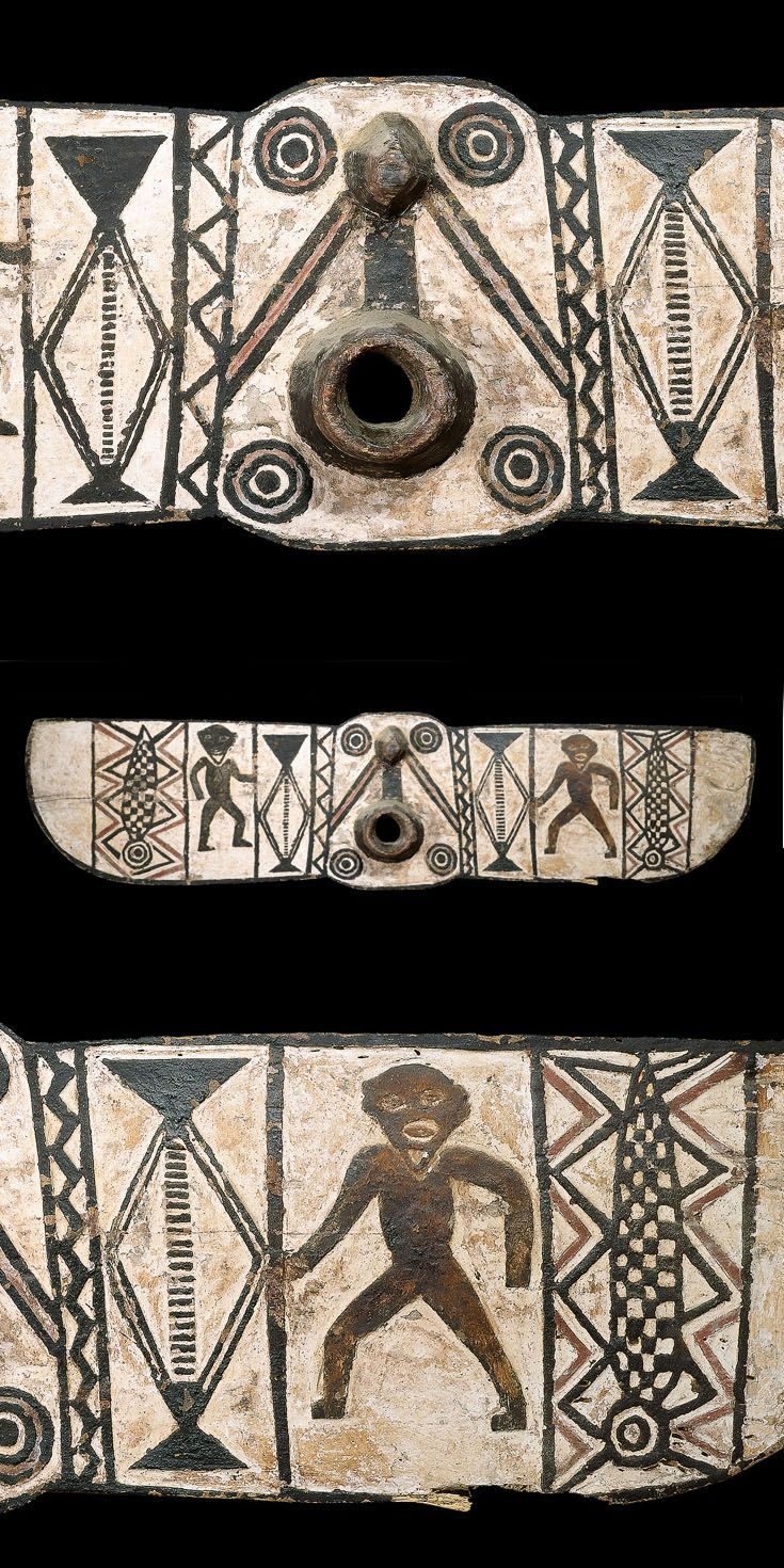 Africa | Mask from the Bwa people of Burkina Faso | Wood ...