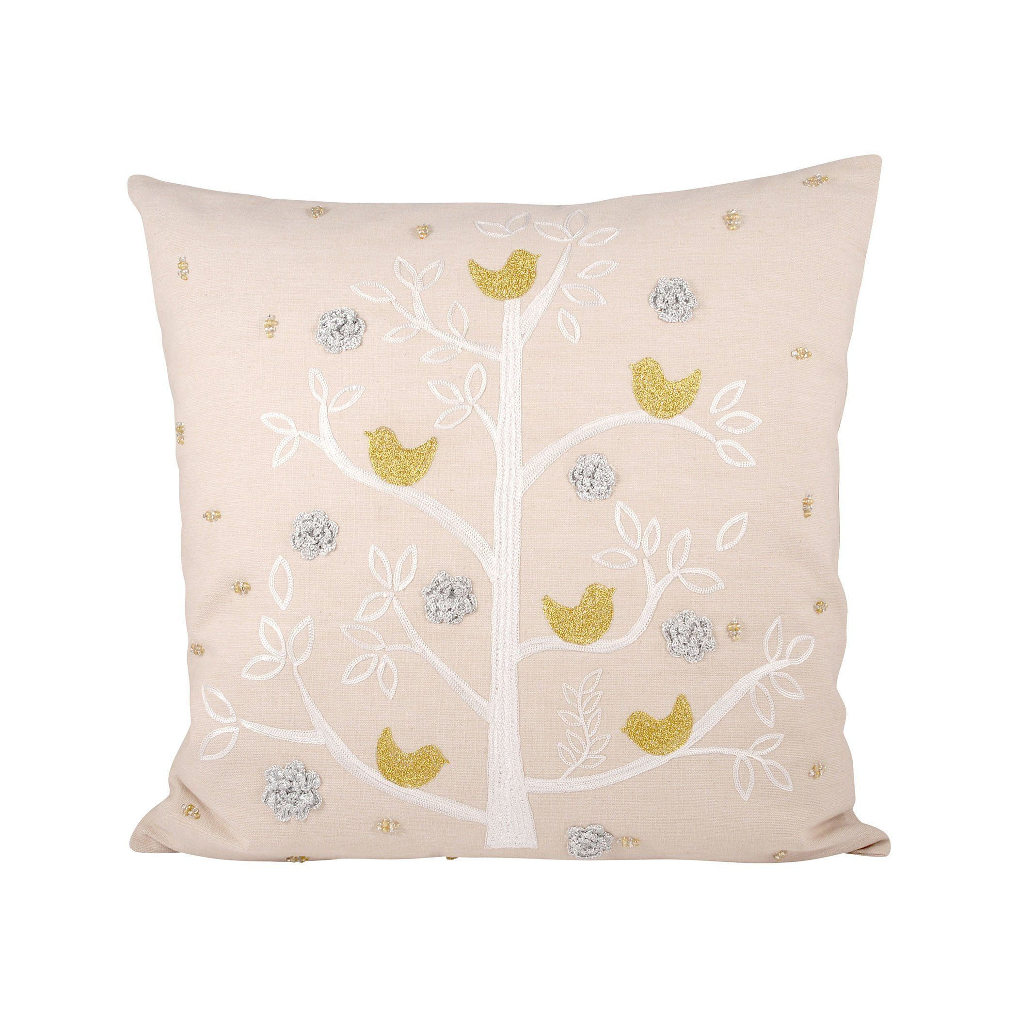 Pomeroy Holiday Partridge Pillow (Holiday Partridge Pillow