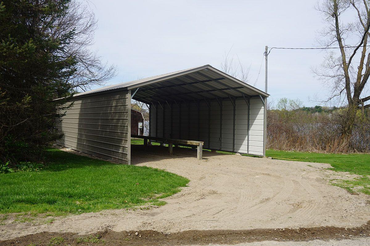 Michigan Metal Carport Installed in Newaygo Metal