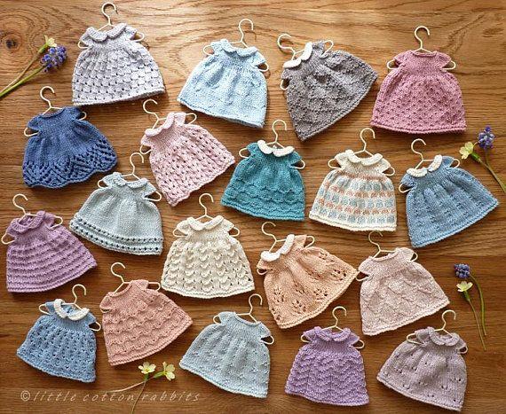 Textured Dresses Pattern #dolldresspatterns