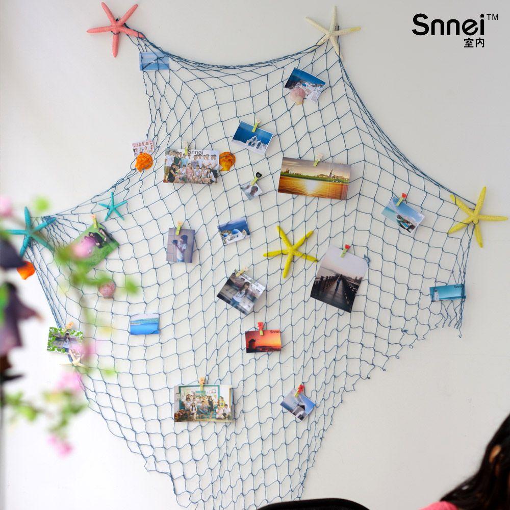 decoración red pesca marina | Proyectos que intentar | Pinterest ...