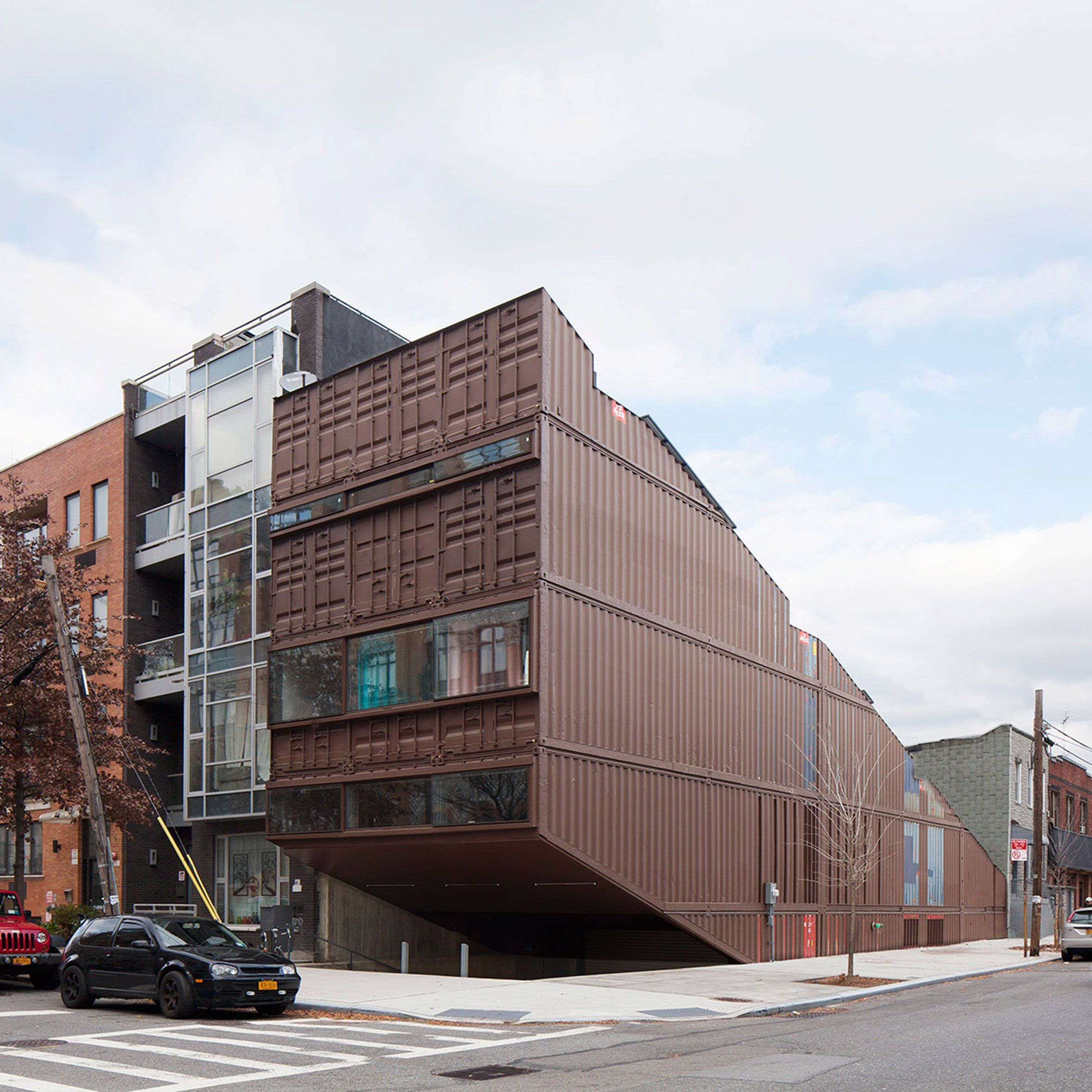Images From Container Architecture: Lot-Ek Has Built A Family Home In Brooklyn By Stacking