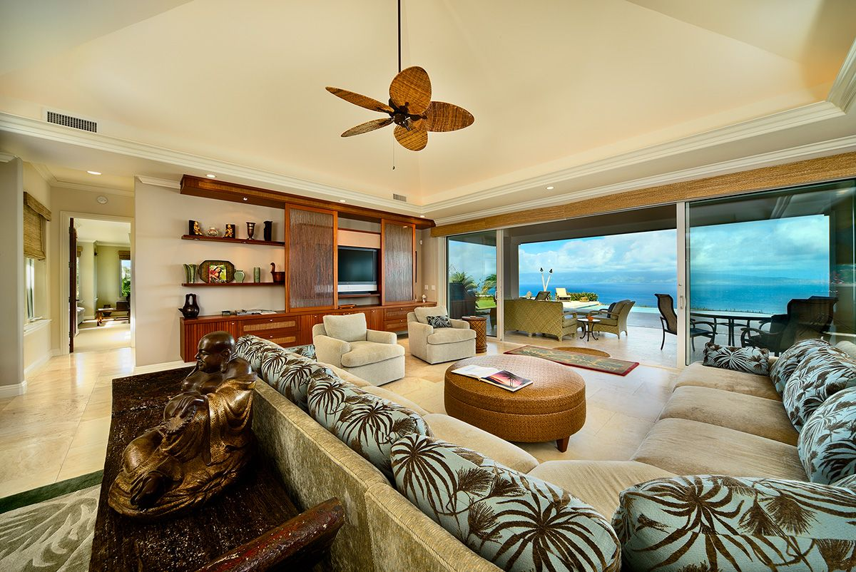 Imagine yourself sitting in this #Maui #Luxury home, it is almost as if you can smell the sweet fragrance of the tropical air. Where dreams become reality - mauiparadiseproperties.com