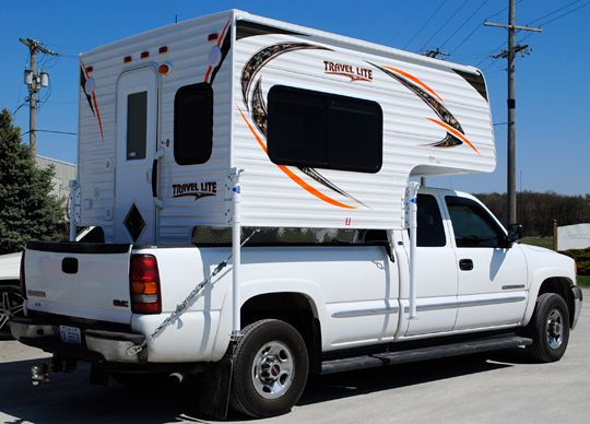 2016 Travel Lite 625 Super Lite Truck Camper Lightweight Truck