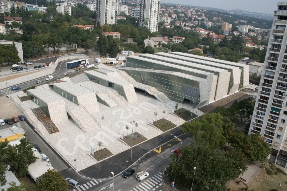 zamet center rijeka, croatia public square, sports