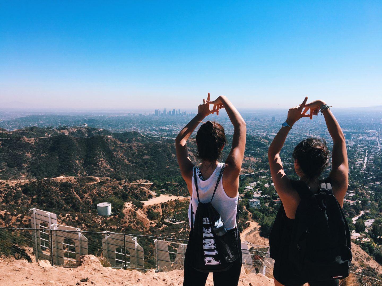 pinterest mayaxnicolexdes • Hollywood sign hike