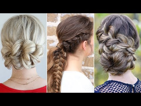 164 3 Easy Updo Hairstyles For Prom Youtube In 2020 Easy Updos For Long Hair Easy Hairstyles Easy Updo Hairstyles