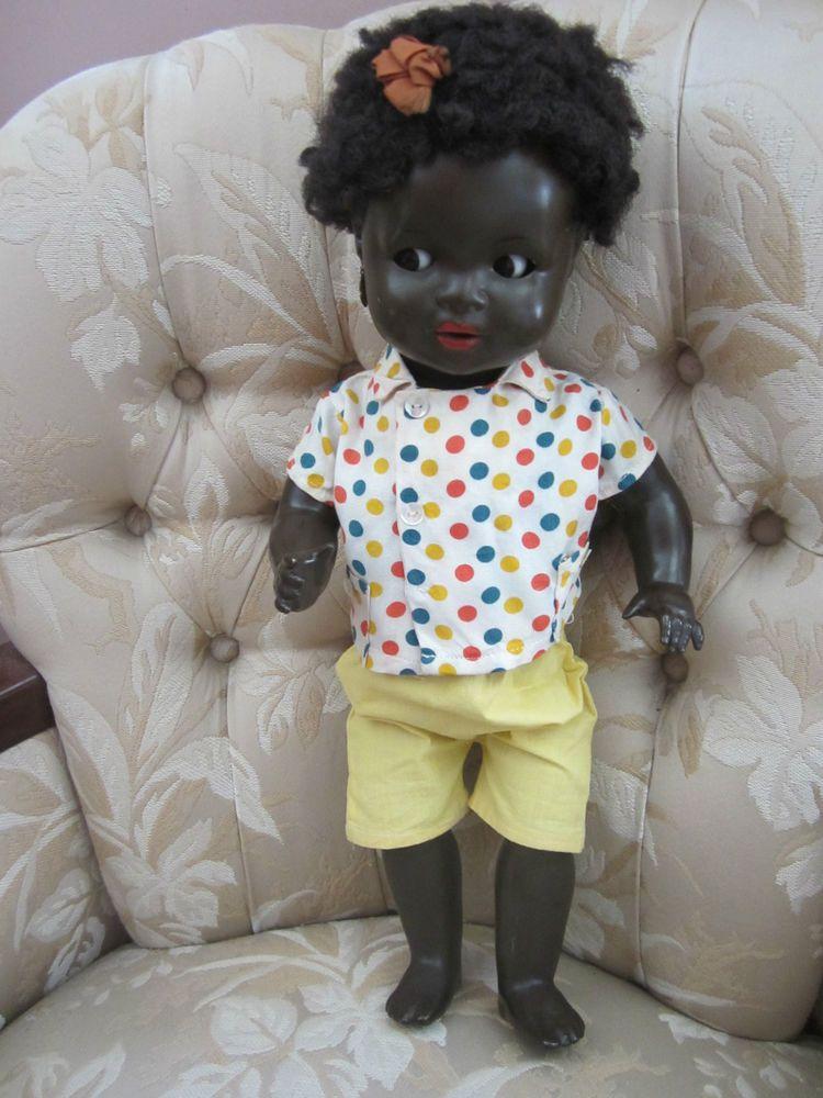 Vintage Antique Black African American German Doll K W Konig Koenig Wernicke German Dolls African American Dolls Vintage Dolls