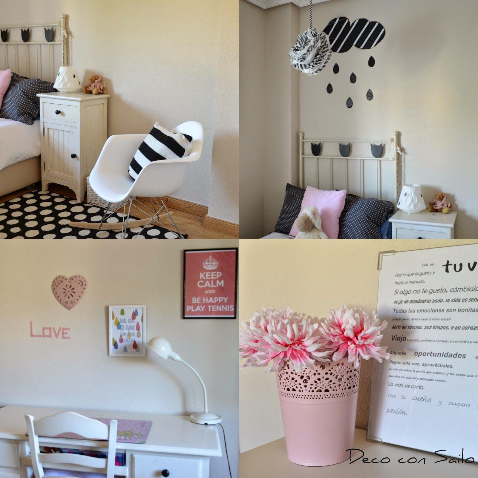 Habitaciones de adolescentes el cuarto de paula mi nuevo cuarto - Manualidades para la habitacion ...