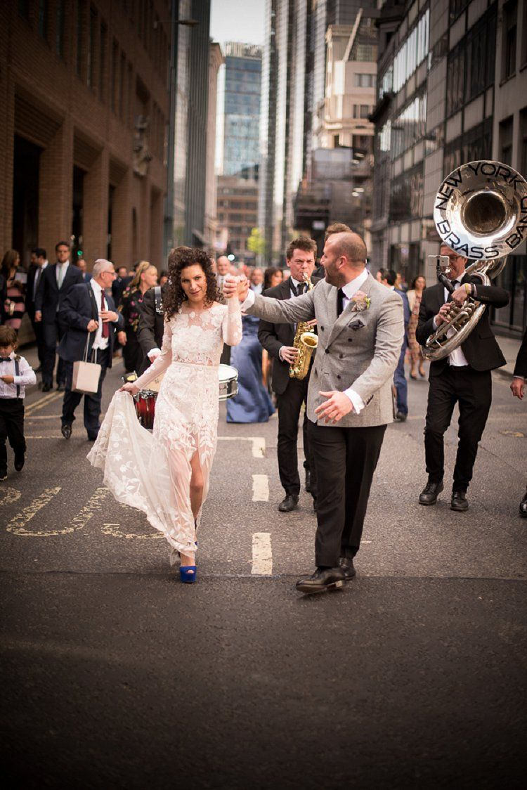 A Super Luxe Gold Jewish Wedding With Hermione De Paula Bride At Bevis Marks And