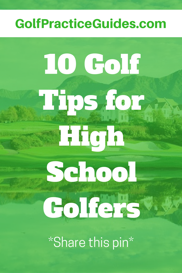 10 tips for high golfers golf practice and golf