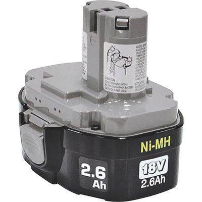 Makita Ni-Mh Pod Battery, 18-Volt, 2.6Ah