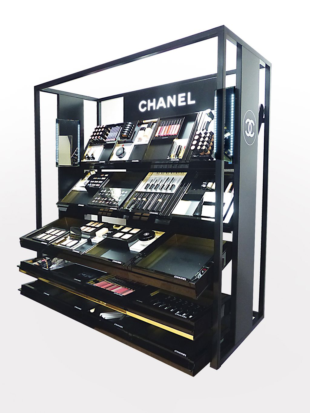 popai awards paris 2016 mini stand de comptoir chanel