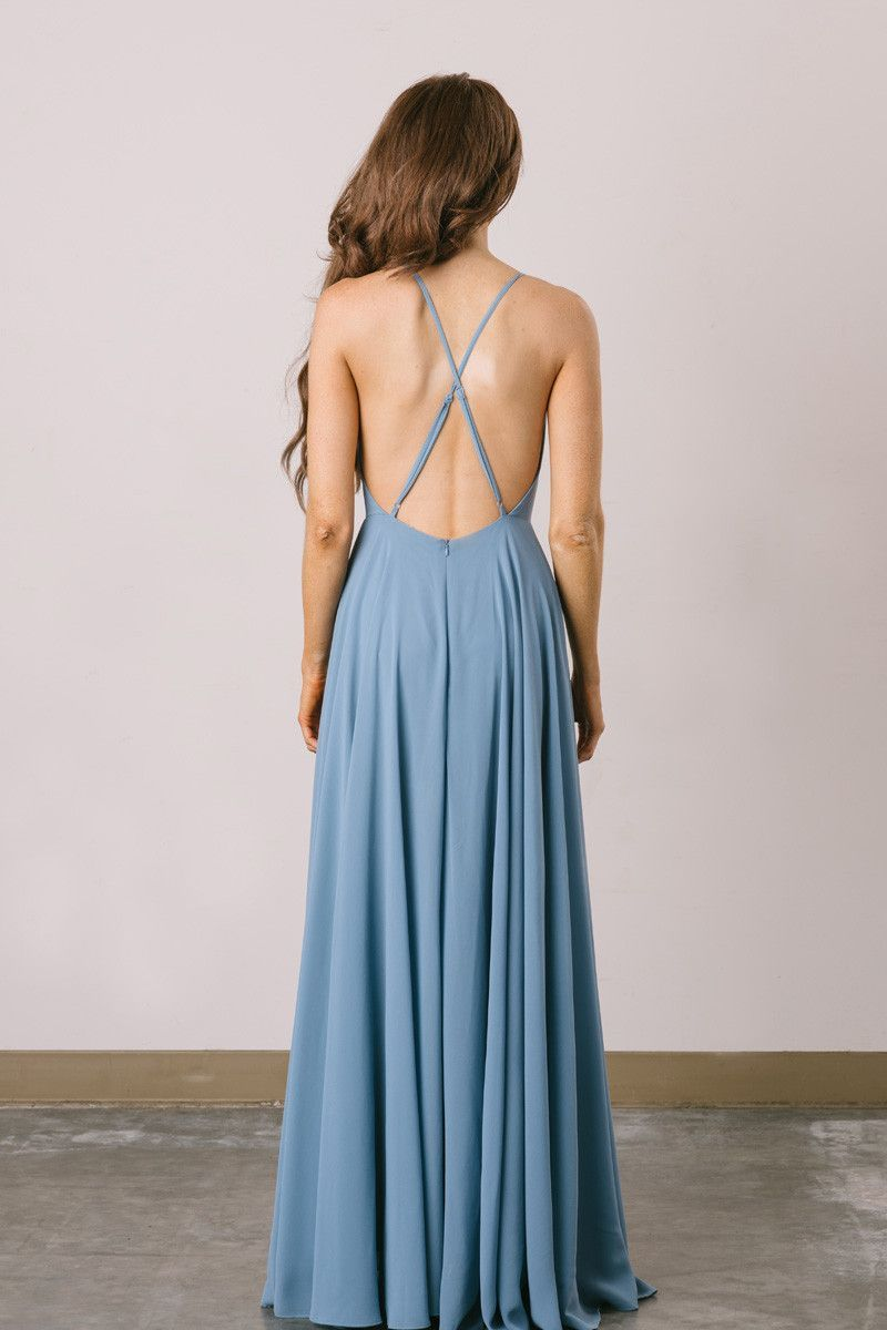 Emma Slate Flowy Maxi Dress | Gray color, Slate and Maxi dresses