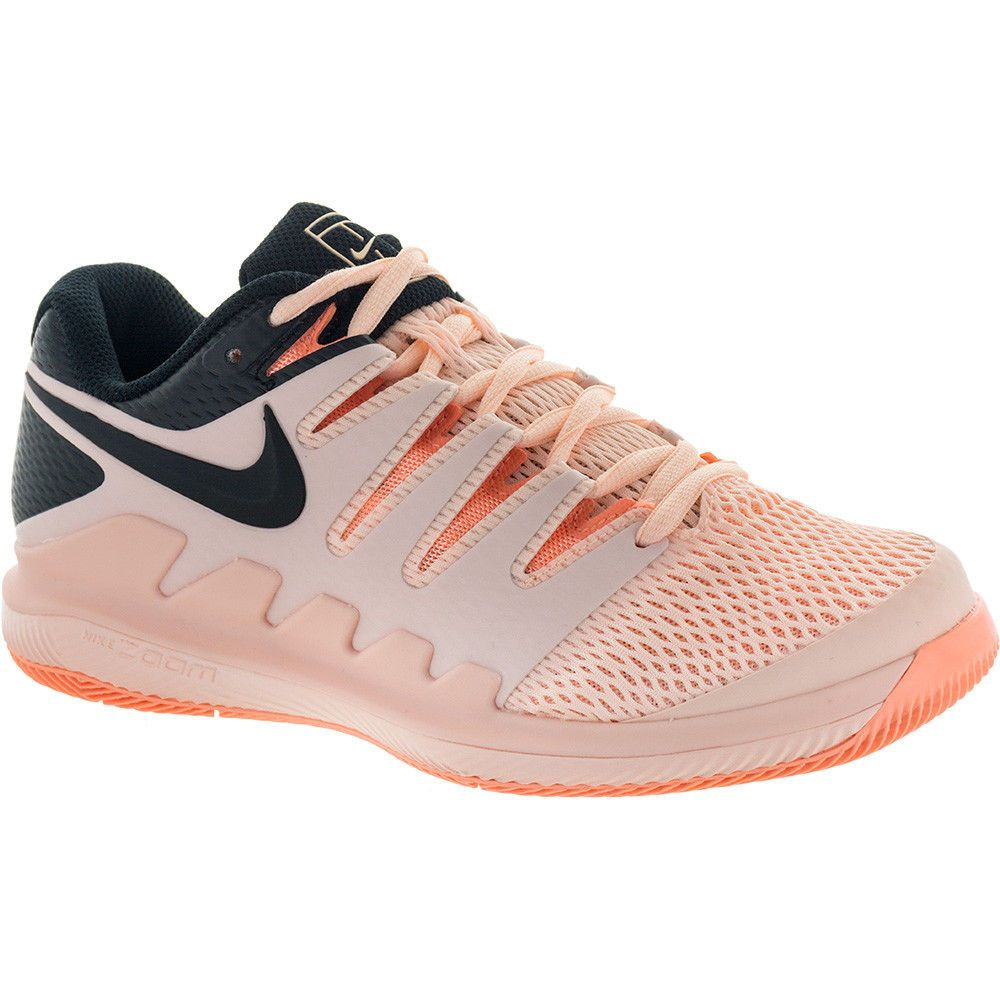 Nike Air Zoom Vapor X Women s Tennis Shoes Orange Racket Racquet NWT  AA8027-800  Nike 3a094db1ff8