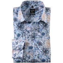 Photo of Olymp No. Six shirt, super slim, urban kent, bleu, 37 olympymp