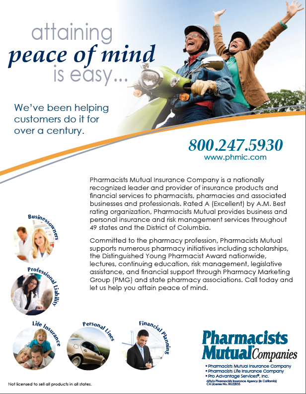 Pharmacists Mutual Companies Pharmacists Mutual Insurance Company Is A Nationally Recognized Leader And Mutual Insurance Personal Insurance Risk Management