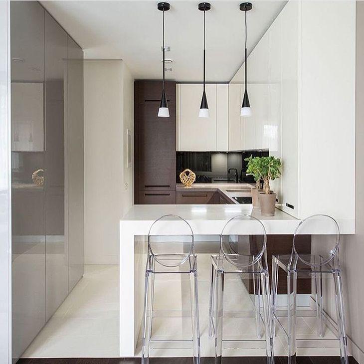 24 Ideas Of Modern Kitchen Design In Minimalist Style: Cadeira De Acrílico: Charme E Modernidade Para Sua Casa