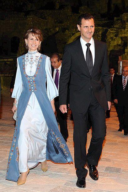 Pin Von Khinn Von Lutzow Auf Bashar And Asma Al Assad Assad S Family