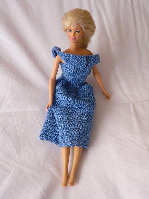Free pattern | barbie | Pinterest | Puppenstube, Barbie und DIY und ...