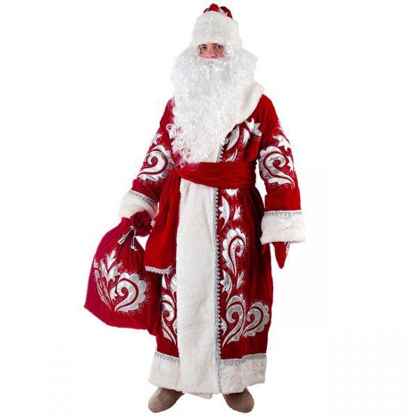 Uzor Na Kostyum Deda Moroza Svoimi Rukami Victorian Dress Dresses Fashion