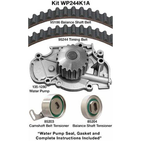 Engine Timing Belt Kit with Water Pump-Water Pump Kit without Seals Dayco