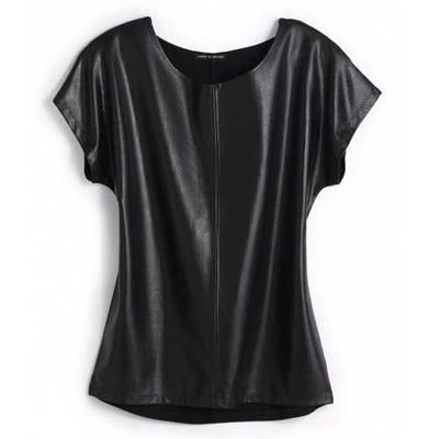 Faux Leather Top, $34 at Cable and Gauge