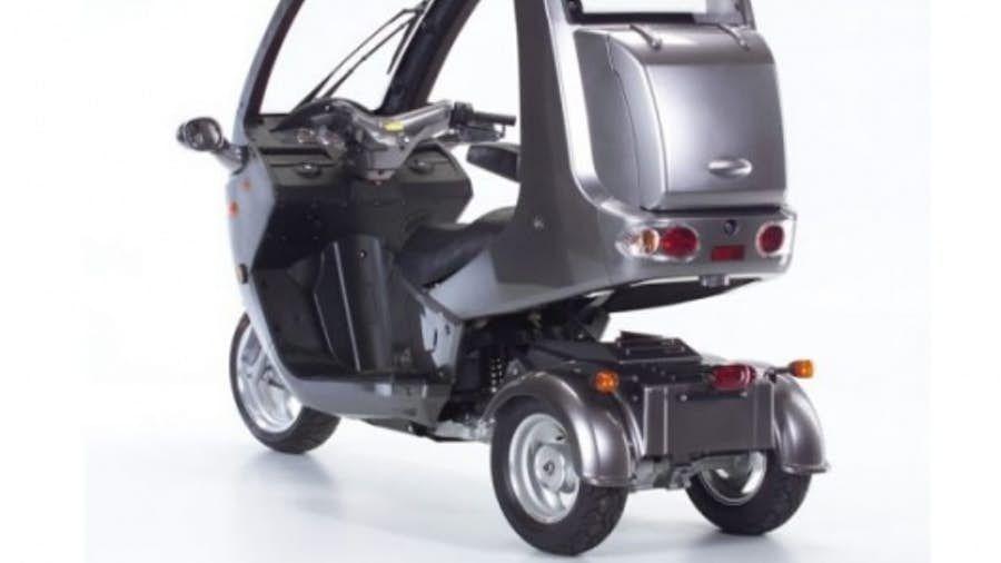 Automoto tilting threewheeler cheap practical commuting
