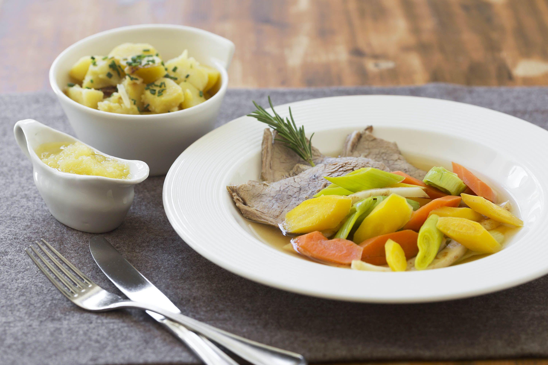 Unser Gasthaus brunner in Schladming liebt die traditionelle, österreichische Küche. Eines unser Lieblingsgerichte ist der typische Tafelspitz.