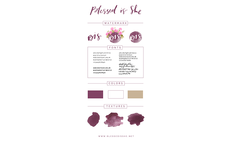 Blessed is She Branding by Be A Heart