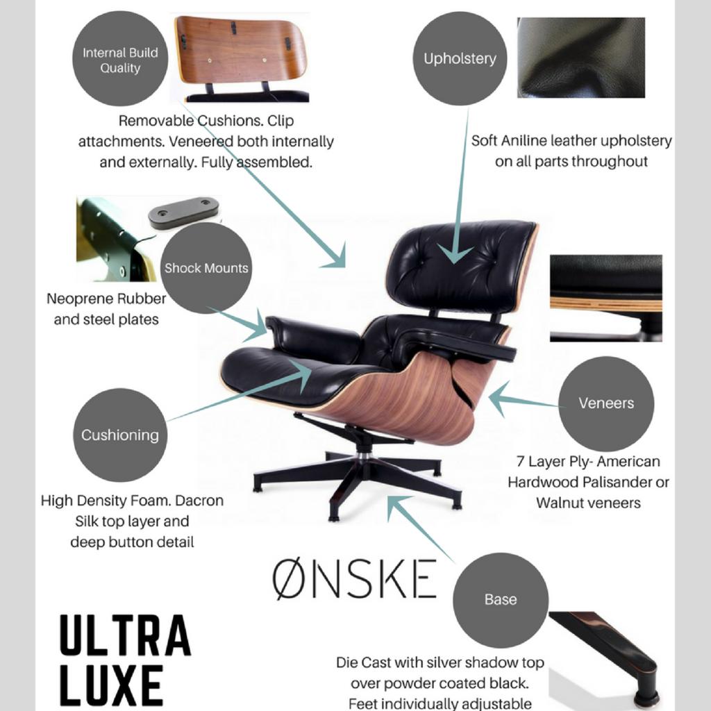 replica eames group standard aluminium chair cf. Our Premium Eames Style Lounge Chair And Ottoman Set. Replica Group Standard Aluminium Cf