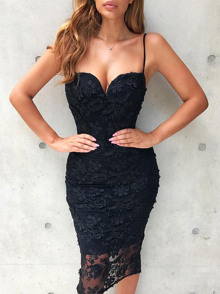 Sexy Party Dress Straps Lace Shaping Summer Dress - Power Day Sale#holidaysale #Christmassale #Christmasdeals #Sales #Deals #Holidayoffers #Christmasoutfit #Christmasoffers #holidayoutfit