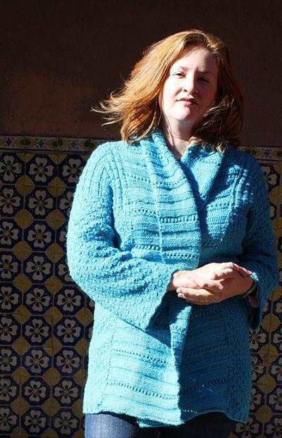 Free Knitting Pattern - Women\'s Sweaters: Therapi Sweater | Knit ...