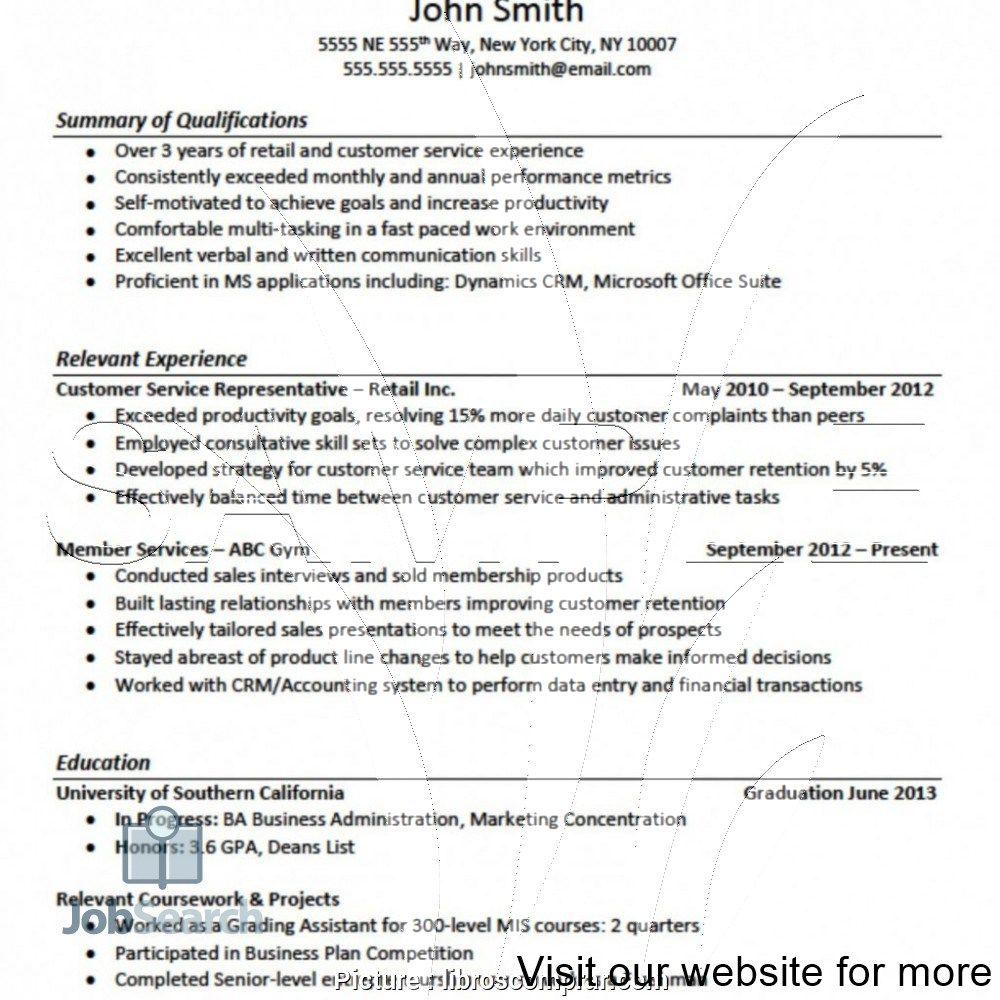 entry level resume examples in 2020 Resume, Writing a